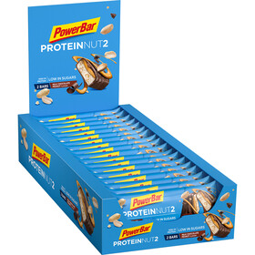 PowerBar Protein Nut 2 Bar Box 18x2 x 22,5g, Milk Chocolate Peanut